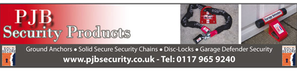 ground anchors - solid secure security chains