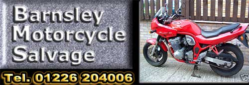 Barnsley Motorcycle Salvage - new & used motorcycle and scooter parts